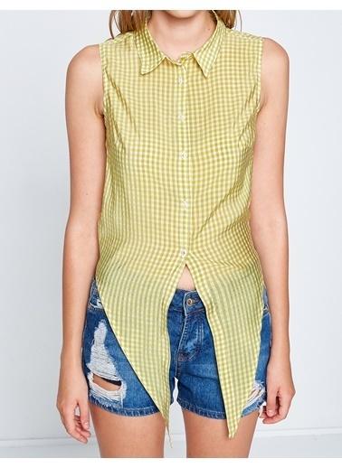 Koton Gömlek Sarı